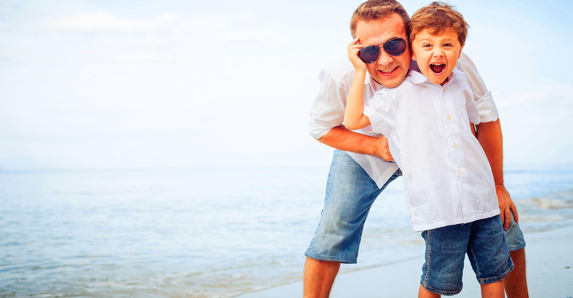Spiaggia familiare